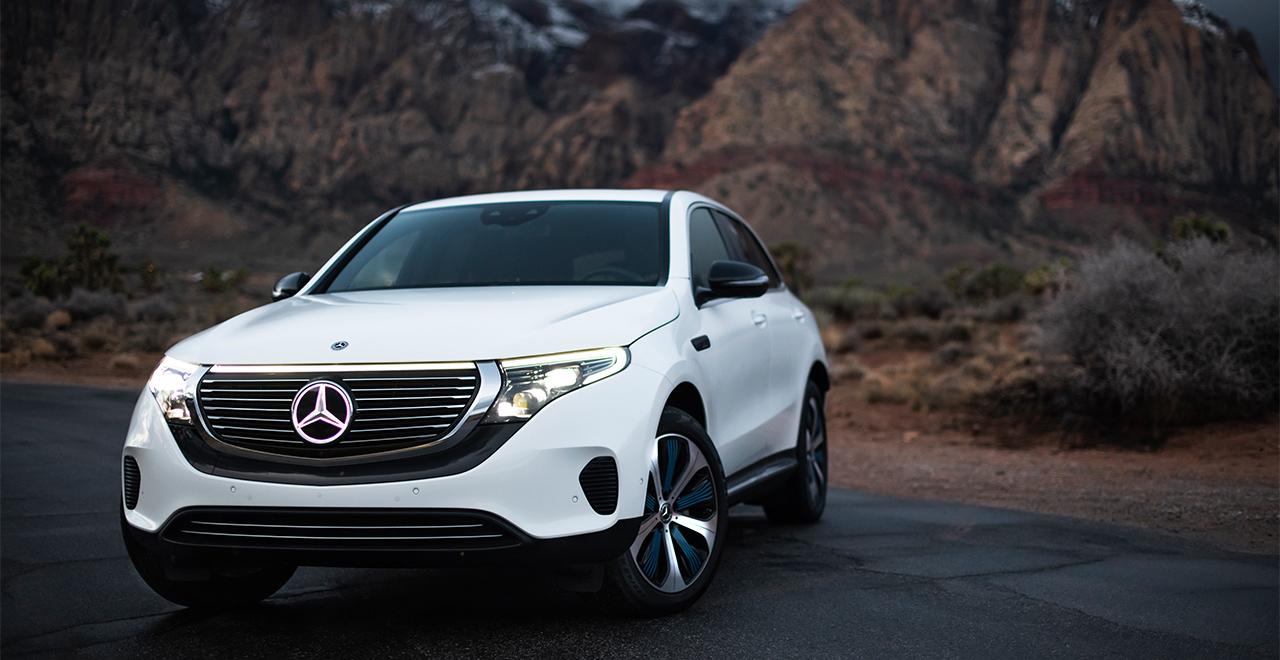 The all-new Mercedes-Benz EQC