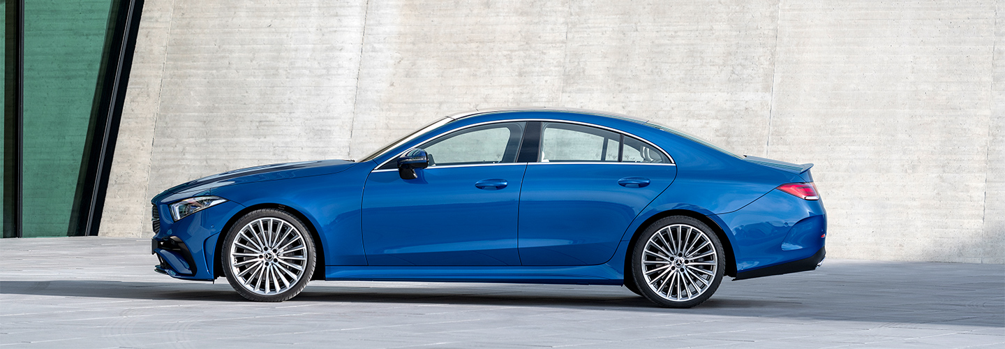 Stay in the know about the 2022 Mercedes-Benz CLS Coupe